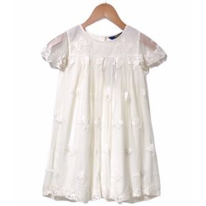 Polo by Ralph Lauren Floral Embroidered Dress